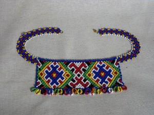 Sylianka, 2012, beads, threads