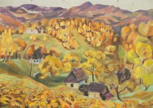 Осінній день, 1994, к. темп., 70х100