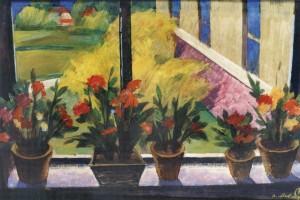 Весняне вікно, 1998, к.т. 52х79,5