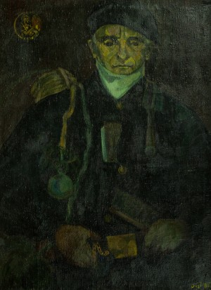Chimney Sweeper, 1981, oil on canvas, 93,5х70