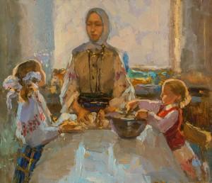 Zlata Shyshman. Improvisation. 2017. 60x70