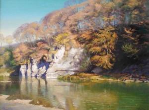 Скеля в Кам'яниці, п.о., 60х80