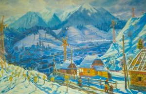 Околиці села, 1961 р. п.о. 98х150