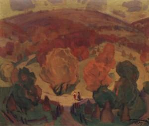 Осінні сади, 1979, п.о. 85,5х100