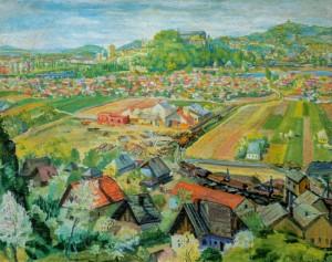 Околиці Ужгорода, 1947 р. п.о. 85х104