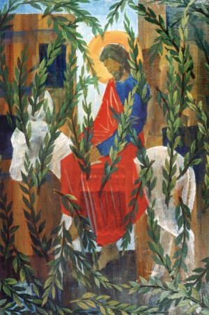 Вербна неділя, 1994, п.о. 97х65