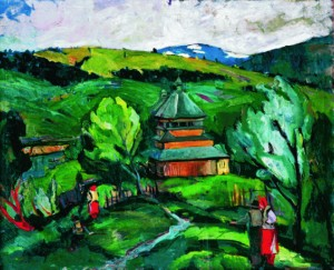Yasynia village, 1940