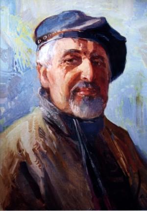 Портрет художника Фединишинця, 2008, п.о., 80х60