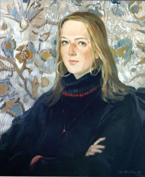 Портрет журналістки Наталії Галь, 2003, п.о., 70х60