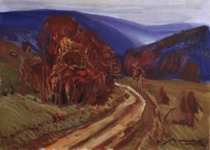 Осіння гармонія, 1982, к.о. 39,5х50