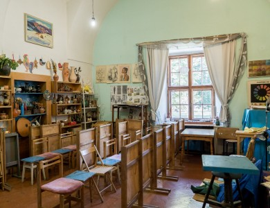 CHILDREN'S ART SCHOOL NAMED AFTER MIHÁLY MUNKÁCSY (MUKACHEVO)