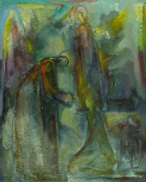 Поклоніння, 1990-ті, п.о.,  100х81