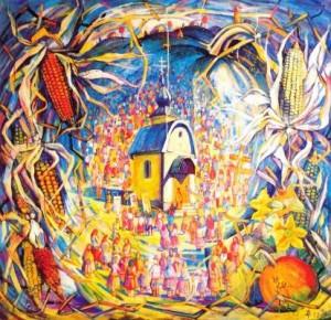 Освячення каплиці, 1997, п.т., 105х108