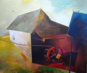 Млин, 2011, п.акр., 60х70