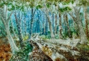 Roadless, 2004, watercolour on watman, 60х85