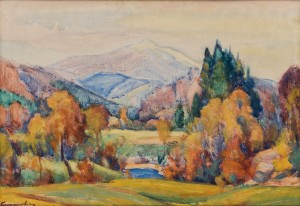 E. Kontratovych  Autumn in Verkhovyna, 1965