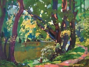 Біля Боздоського парку, 2005, к.акр., 50х70
