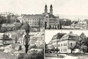 Греко-кат. кафедр. собор та комітатський буд. в Ужгороді