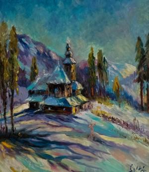 «Зима в с. Буківцьово», 2017