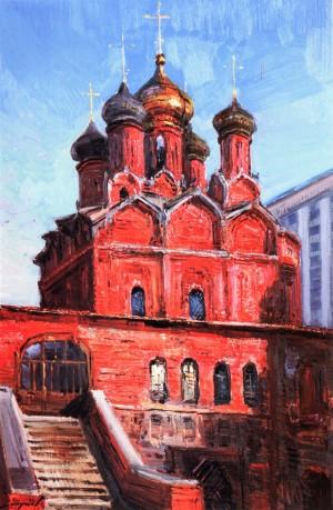 Знаменський собор. Москва, 1984, кар.о., 76х50
