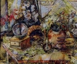 Осінній натюрморт, 2012, пап., авт. техн., 30х40