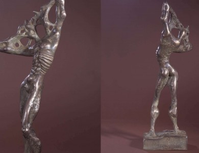Male figura Bronze 1995 53х20