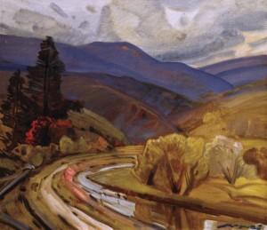 Осіння дорога, 1979, п.о. 64х70