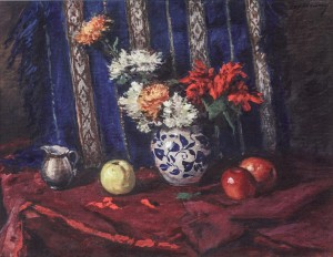 Still Life, 1958, oil on canvas, 56x70.5