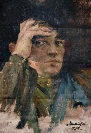 Self-portrait, 1954
