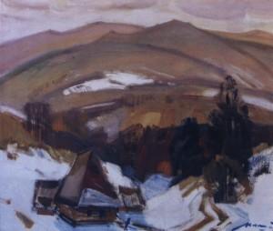 Осінь в горах, 1983, п.о. 60х70
