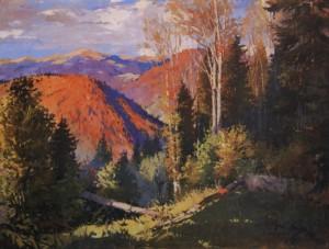 Осінь в Карпатах, 1952, п.о. 95х135