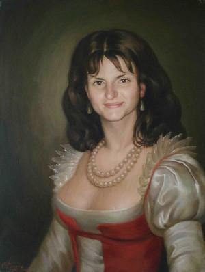 Тетяна з Білої Церкви, п.о., 60х45