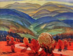 Осінь на перевалі, 1972, п.о. 80х92