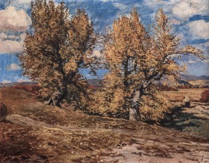 Autumn Trees, 1937, oil on canvas, 79,5х99,5