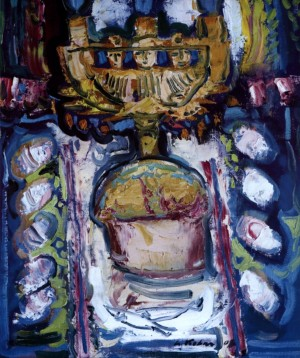 Easter Bread, 2008, oil on canvas, 60x50