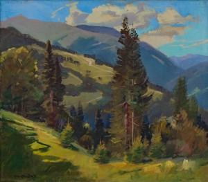 V. Brenzovych 'Blyznytsia Mount', 2011