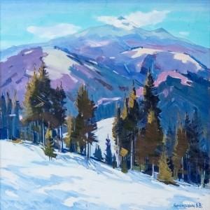 V. Brenzovych 'Hostra Mountain', 2011