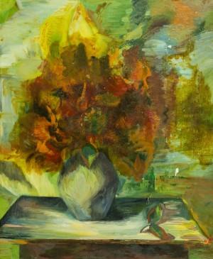 Осінній букет, 1990-ті, п.о.,  50х60