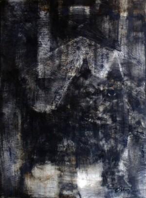 Пес Десь, 2014, пап, ол., 100х70