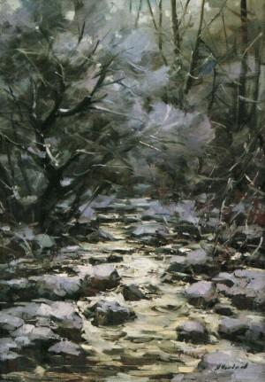 Hoarfrost, 2009, 100x70