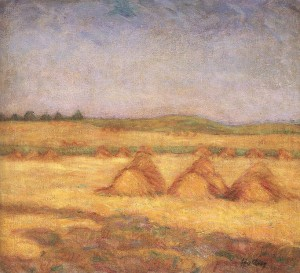 After The Harvest, 1908