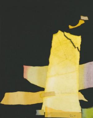 Із триптиху 'Акція №17', п.комб.техн., 100х80