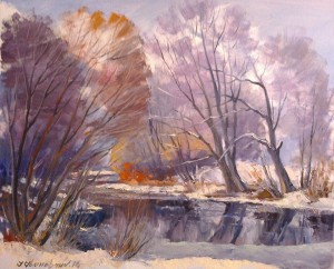 Frost And Sun..., 2014