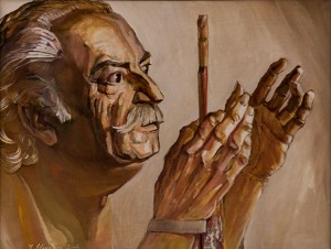 'Portrait Of F. Manailo', 2004, oil on canvas