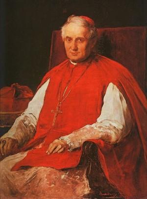 Портрет кардинала Хайнальда 1884 р