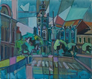 V. Panasiuk 'View Of Town Hall'