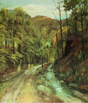 Дорога на полонину Рівну, 2003, 70х60