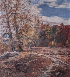 Autumn Park, 1963, oil on canvas, 89x66