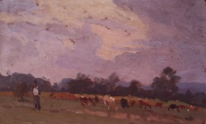 Пастушок, поч. 1950-х, к.о. 18х30,5
