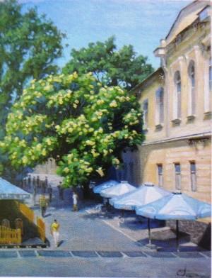 Ужгород. Початок набережної, 2005, п.о., 65х50